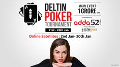 Tournament Poker in India gets bigger in 2016 with the launch of Deltin Poker…