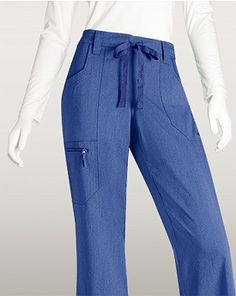 Grey's Anatomy Signature Scrubs 2204 4 Pocket Tie Front Pant