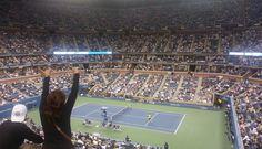 El #USOpen visto por nuestro enviado especial: el torneo desde adentro [#FOTOS]