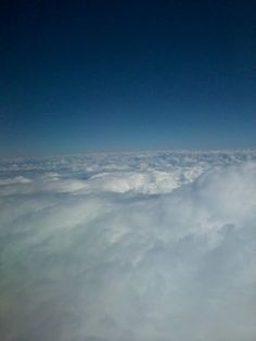 several clouds that fill our space, same thoughts fill our mind