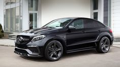 Cars Tuning Music: Mercedes GLE Coupe by TopCar