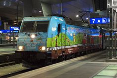Trains and locomotive database and news portal about modern electric locomotives, made in Europe. Electric Locomotive, Trains, Europe, Train