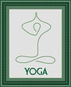 Looking for your next project? You're going to love YOGA cross stitch pattern PDF by designer LUDIVINECREATIONS.