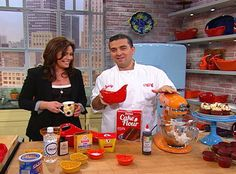Rachael Ray Show - Food - Buddy Valastro's Red Velvet Cake.  Excellent video, different recipe, not much cocoa.  uses lots of red liquid on video but recipe says gel ??, cake flour.  cake or cupcakes.