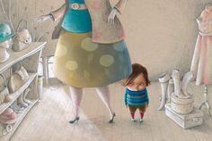 ilustration ( ¿puede pasarle a cualquiera? Mar Pavón) . Sonja Wimmer