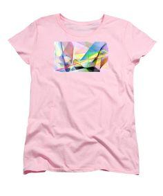 Women's T-Shirt (Standard Cut) - Abstract 9502