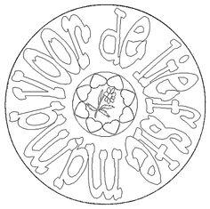 * Mandala: voor de liefste mama