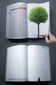 25 Creativos ejemplos de Publicidad y Anuncios en revistas a doble página