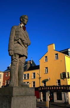 Overview Galway City, Ireland