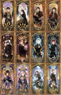 Anime Ships, Tsukiuta The Animation, Art, Kawaii Anime, Manga