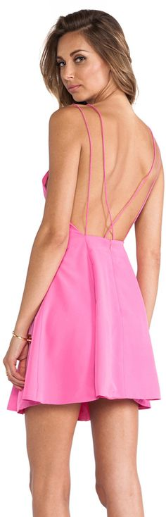 Shop for keepsake Be My Escape Dress in Candy Pink at REVOLVE. Dress Me Up, Pink Dress, Dress Outfits, Cute Outfits, Open Back Dresses, Pink Candy, Revolve Clothing, Ladies Dress Design, Dress To Impress