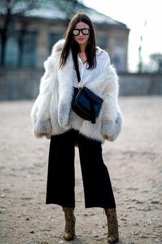 awesome Кюлоты женские (50 фото) — С чем носить модные брюки?