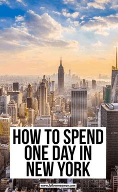Travel Advice for one day in New York Are you looking to see New York in a day? We have a detailed list of the ten best places to see in New York in a day! Usa Travel Guide, Travel Advice, Travel Usa, Travel Tips, Vacation Travel, Budget Travel, Travel Guides, Golf Travel, Travel Europe