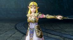 Zelda Hyrule Warriors official screenshot - Release September 26th only for #WiiU - Princess Zelda in her new design will be playable!