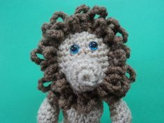 Amigurumi To Go!: Little Bigfoot Lion Free Crochet Lion Pattern Crochet Lion, Crochet Patterns Amigurumi, Free Crochet, Crochet Hats, To Go, Lion Mane, Bigfoot, Crotchet, Lions