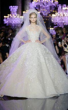 Elie Saab HC RF14 2084 I really fall in love with that wedding dress!