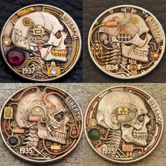 Hobo Nickel, Old Coins, Handmade Items, Handmade Gifts, Wedding Ring Bands, Precious Metals, My Images, Ranger, Turning
