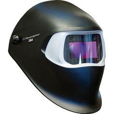 3M Speedglas Black Welding Helmet 100 with Auto-Darkening Filter 100V- Shades 8-12, Model 07-0012-31BL Welding Jobs, Diy Welding, Welding Projects, Welding Ideas, Tig Welding Process, Welding For Beginners, Auto Darkening Welding Helmet, Types Of Welding, Welding Gloves