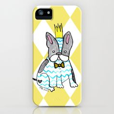 I know it's my design & I shouldn't but I adore this Sweet Frenchie iPhone Case $35.00 (Get a five dollar discount on my Society6 shop until 11/11/12! Here's a link: http://society6.com/NinoArt?promo=3fcd5b