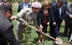 Mr. Massoud Barzani, president of the Kurdistan region to serve the people of Kurdistan