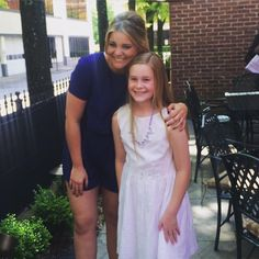 """Lauren with a very special fan, May 3, 2015... """"Thank you @Lauren_Alaina for such a powerful message to all of us at the MCR luncheon today!"""" #prettyisasprettydoes"""