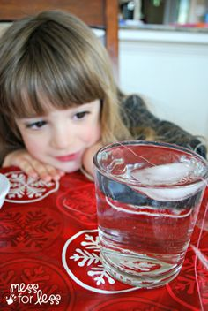 Simple Science - Ice Cube Experiment