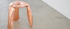 Limited Edition chairs: Plopp Copper by Oscar Zieta | Covet Lounge - Curated Design
