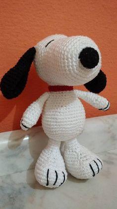 Amigurumi Snoopy - R$ 45,00