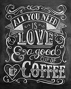 Lily & Val caffè, 40 x 50 cm, tela stampe, multicolore