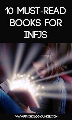 10 must-read books for INFJs! #INFJ #MBTI