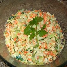 Homemade Healthy Coleslaw Recipe, Low Fat Side Dish