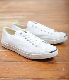 Converse Jack Purcell's. Classic lightweight canvas sneakers that look great with just about anything.