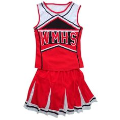 Tank top Petticoat Pom Pom-pom cheerleader cheer leaders L (38-40) 2 piece suit new red costume<BR><BR><BR>shop-womens-costumes<BR><BR>http://www.9mserv.com/detail.php?pid=2507581&cat=shop-womens-costumes