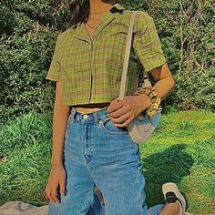 Indie Outfits, Teen Fashion Outfits, Cute Casual Outfits, Retro Outfits, Vintage Outfits, Indie Clothes, Stylish Outfits, Indie Fashion, Aesthetic Fashion