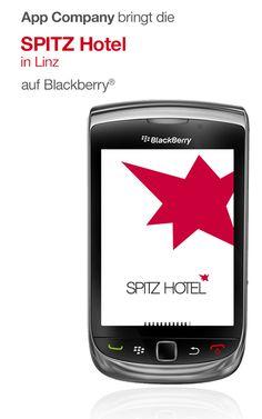 Spitz Hotel App: App Company Oberösterreich - die Appagentur aus Linz - bringt das Spitz Hotel - Kunst, Kultur und Design vereint im Spitz Hotel - auf Blackberry®