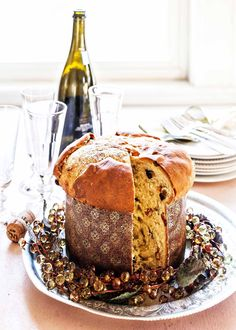 Make the holidays extra special with a homemade loaf of panettone. This enriched Italian Christmas bread—dotted with rum-soak dried fruit, citrus, and almonds—is easy to make at home with the time-sav Italian Christmas Bread, Let It Rise, Best Pans, Candied Orange Peel, Cupcakes, Instant Yeast, Simply Recipes, Dried Fruit, Dry Yeast