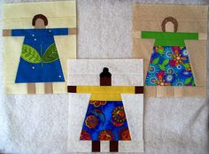 The Academic Quilter: Paper dolls