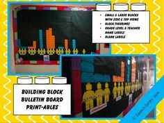 I hope you enjoy my Building Blocks Bulletin Board Printables! I created these and used them for the Box Tops for Education school competition board at my childrens school. It has appealed to all grade levels and has gotten the kids motivated to bring in those Box Tops!