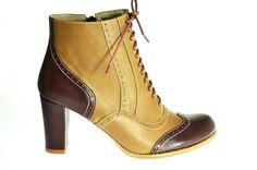 Botine Oxford de pantoficaro Breslo