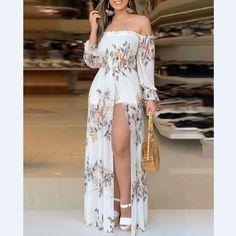 Maxi Dress With Slit, Bodycon Dress, Havanna Party, Fashion Pattern, Trend Fashion, Style Fashion, Lolita Fashion, Fashion Fashion, Retro Fashion