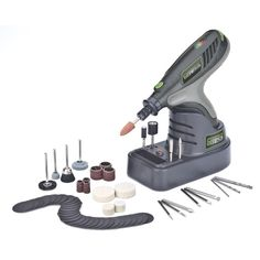 Genesis Lithium-Ion Hobby Tool with 65 - The Home Depot - Dremel Projects Ideas Cheap Hobbies, Hobbies For Women, Hobbies To Try, Hobbies Creative, Rc Hobbies, Home Depot, Bijou Box, Hobby Tools, Dremel Projects