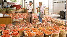 The Nashville Farmers' Market offers fresh produce seven days a week.