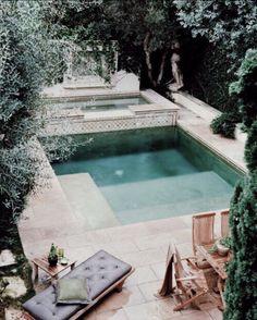 Swimming pool  Exotic holiday resort