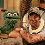 Mike Rowe (b. is an American television personality and host and star of Dirty Jobs, in addition to narrating several series. Rowe appeared in Sesame Street's season where he visits Oscar the Grouch, who has him do the dirtiest jobs on Sesame Street. 252 Basics, Unique Jobs, Mike Rowe, Ted, Deadliest Catch, Oscar The Grouch, Like Mike, Working People, Reality Tv Shows