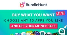 Incredibile promozione BundleHunt: scegli 10 applicazioni per Mac tra 38 e paghi solo 2199$
