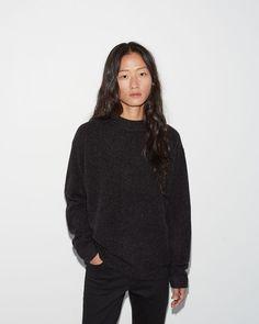 Moderne | Academie Mockneck Sweater | La Garçonne