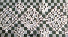 Bordado em pano xadrez                                                                                                                                                                                 More