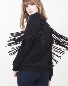 Nora Fringe Sweatshirt