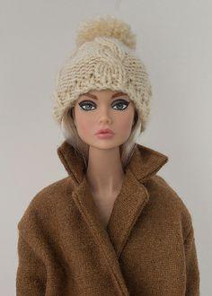 Barbie vêtements vêtements Poppy Parker bonnet tricoté à la