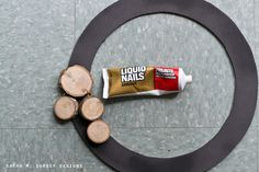 DIY Wood Slice Wreath | Tutorial